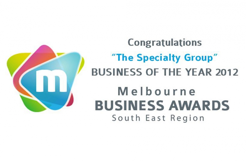 2012 - Celebrating 20 years of business excellence in Melbourne's South Eastern Region
